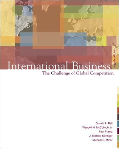 9780072485547: International Business: The Challenge of Global Competition (8th Edition)