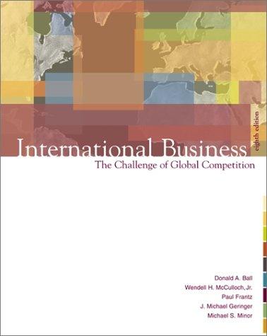 9780072485547: International Business