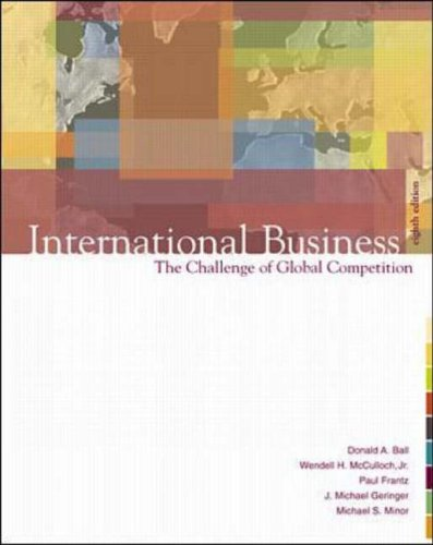 9780072485547: International Business