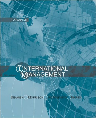 9780072485813: International Management (Mcgraw-Hill Advanced Topics in Global Management)