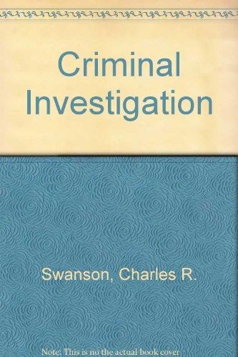 9780072485929: Criminal Investigation