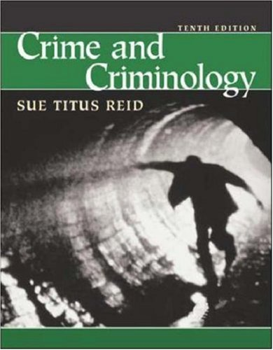 9780072485950: Crime and Criminology