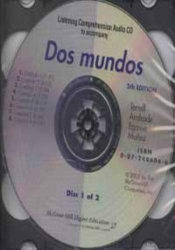 9780072486063: Listening Comprehension CD to Accompany DOS Mundos (Spanish Edition)
