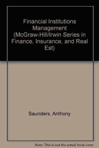 9780072486193: Financial Institutions Management: A Risk Management Approach