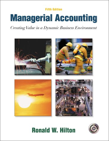9780072486605: Managerial Accounting: Creating Value in a Dynamic Business Environment w/Student Success CD-ROM, Net Tutor & Powerweb package