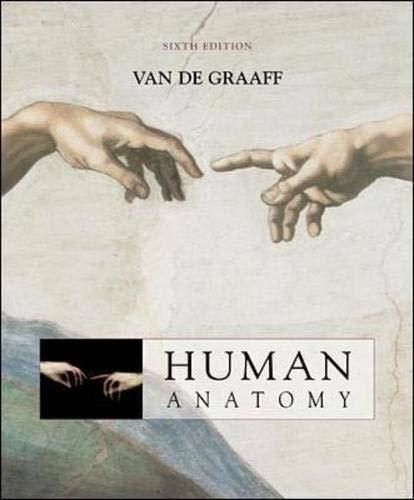 9780072486650: MP: Van De Graaff Human Anatomy 6/e + OLC password card + ESP + Strete/Creek's Atlas to Human Anatomy