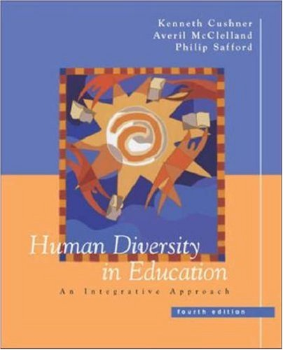 9780072486698: Human Diversity in Education: An Integrative Approach
