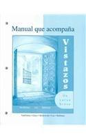 9780072487121: Workbook/Lab Manual to accompany Vistazos