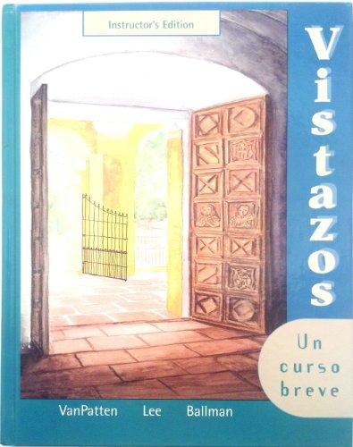 9780072487138: Vistazos: Un Curso Breve (Spanish Edition)