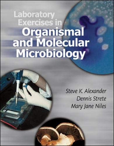 9780072487442: Laboratory Exercises in Organismal and Molecular Microbiology