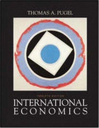 9780072487480: International Economics