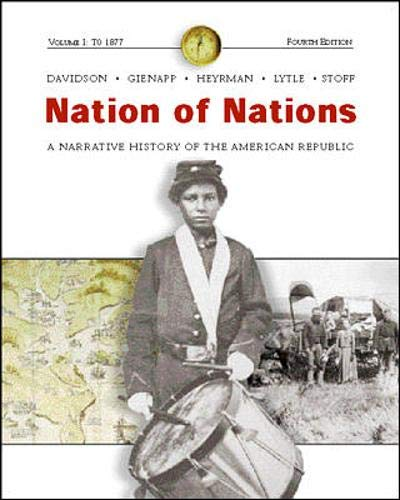 9780072487602: Nation of Nations: With Interactive E-Source CD v. 1
