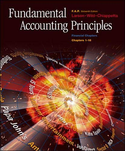 9780072487688: Fundamental Accounting Principles, Chapters 1-18, Financial Chapters with FAP Partner Vol. 1 & 2 CDs, Net Tutor & PowerWeb Package