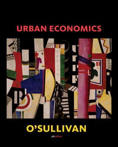 9780072487848: Urban Economics