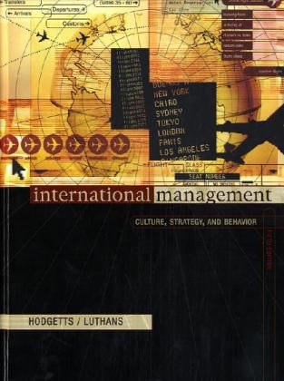 9780072488548: International Management: Culture, Strategy and Behaviour