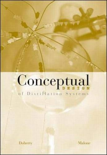 9780072488630: Conceptual Design of Distillation Systems with CD-ROM