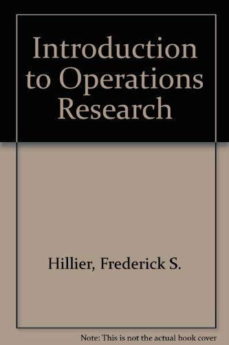 9780072488661: Introduction to Operations Research