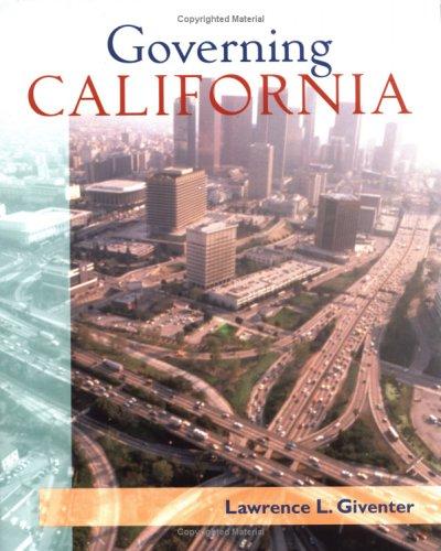 9780072488678: Governing California