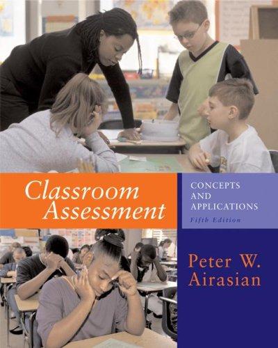 9780072488692: Classroom Assessment