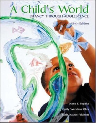 9780072488920: A Child's World: Infancy through Adolescence With Making the Grade CD ROM