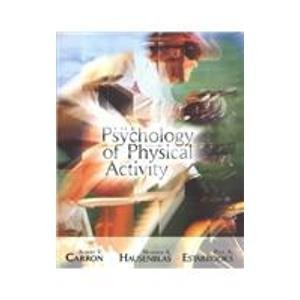 9780072489019: The Psychology of Physical Activity and Exercise