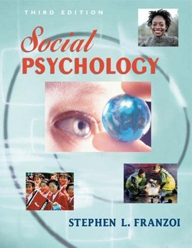 9780072489040: Social Psychology
