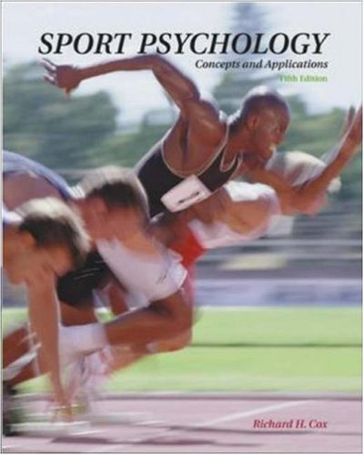 9780072489156: Sport Psychology: With PowerWeb: Health and Human Performance: Concepts and Applications