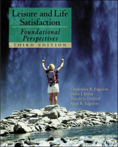 9780072489170: Leisure and Life Satisfaction: Foundational Perspectives with PowerWeb: Health & Human Performance