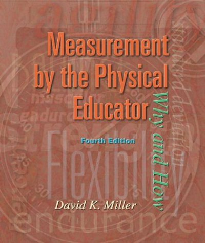 9780072489217: Measurement by the Physical Educator with PowerWeb: Health and Human Performance