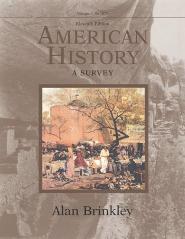 9780072490510: American History: a Survey: Vol 1