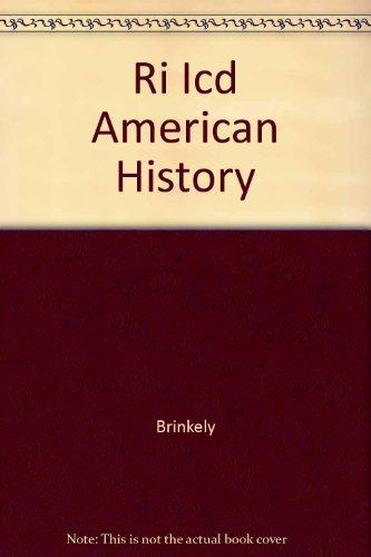 9780072490633: Ri Icd American History