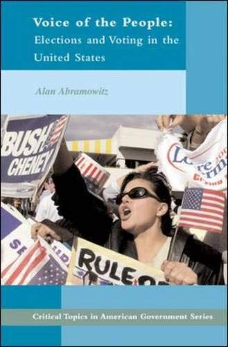 9780072490657: Voice of the People : Elections and Voting in the United States