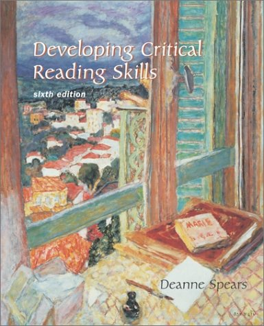 9780072491326: Developing Critical Reading Skills