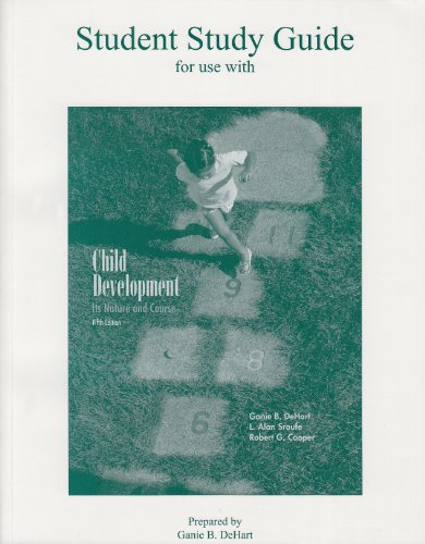 9780072491449: Child Development: Study Guide