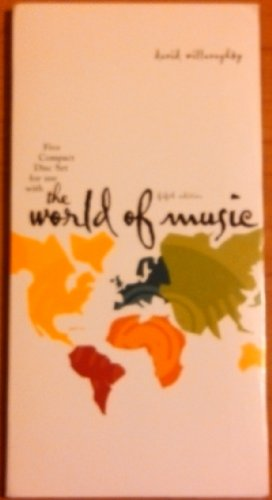 9780072491517: Five CD set for use with The World of Music