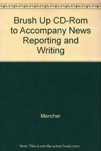 9780072491975: Brush Up CD-ROM to accompany News Reporting and Writing with