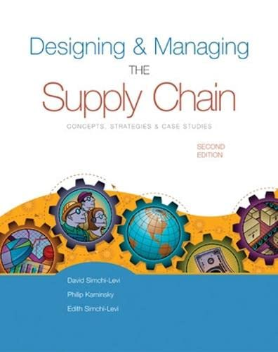 9780072492569: Designing and Managing the Supply Chain (Irwin/Mcgraw-Hill Series in Operations and Decision Science