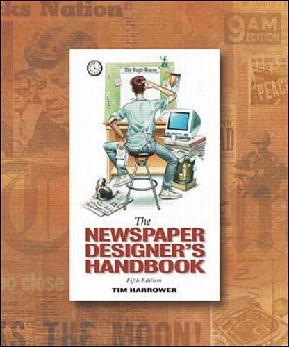 9780072492910: Newspaper Designer's Handbook with CD-ROM