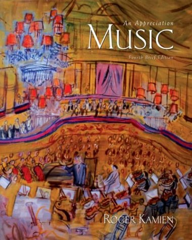 9780072492958: Music: An Appreciation, Fourth Brief Edition with Kamien 4.0 Multimedia CD-ROM