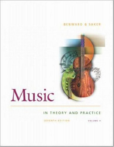 9780072492972: Music in Theory and Practice, Volume Two, with Anthology CD