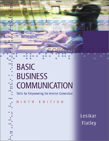 9780072493948: Basic Business Communication