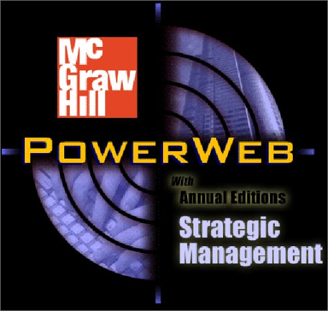 9780072493955: Strategic Management with PowerWeb and Case TUTOR card (Crafting & Executing Strategy : Text and Readings)