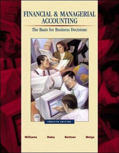 9780072493962: Financial & Managerial Accounting w/CD-ROM, NetTutor and Powerweb