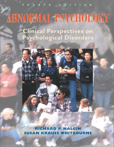 9780072494020: Abnormal Psychology, Clinical Perspectives on Psychological Disorders, 4th