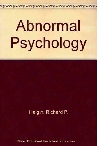 9780072494044: Abnormal Psychology