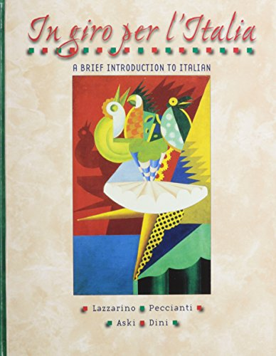 9780072496109: In giro per l'Italia (Student Edition + Listening Comprehension Audio CD)