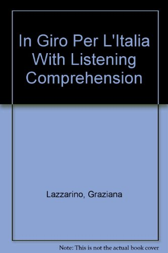 9780072496116: In giro per l'Italia (Student Edition + Listening Comprehension Audiocassette)