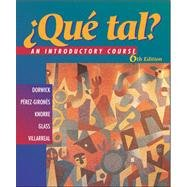 9780072496413: Que Tal: An Introductory Course