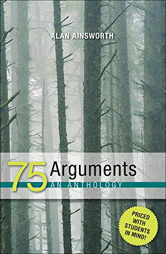 9780072496642: 75 Arguments: An Anthology