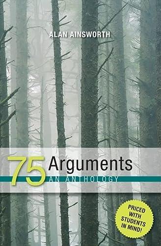 9780072496642: 75 Arguments